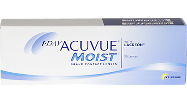 1 Day Acuvue Moist 30 Pack Contacts In Shelby Township Michigan