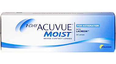 1 Day Acuvue Moist For Astigmatism 30 Pack Contact Lenses In Shelby Township Michigan