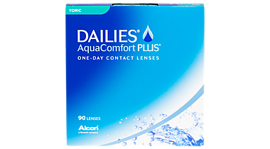 DAILIES Aqua Comfort Plus Toric 90 Pack Contact Lenses In Shelby Township Michigan