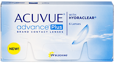 Acuvue Advance Plus 6 Pack Contact Lenses In Shelby Township Michigan