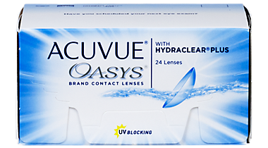 Acuvue Oasys With Hydraclear Plus 24 Pack Contacts In Shelby Township Michigan