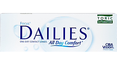 Focus DAILIES Toric 30 Pack Contact Lenses In Shelby Township Michigan