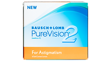 Pure Vision 2 For Astigmatism Contact Lenses In Shelby Township Michigan