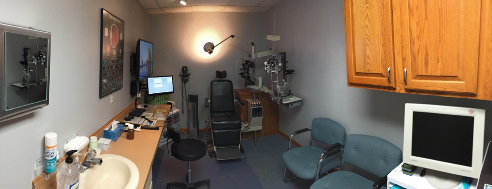 Eye Exam Room In Shelby Township Mi